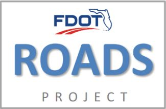 Logo for the FDOT ROADS project